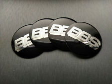 4x 56mm BBS Sticker Stickers Decal Badge For Center Caps Hub Cap Wheel Rim Car