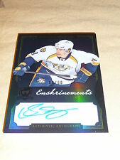 13-14 UD The Cup Filip Forsberg Rookie Enshrinements Auto 9/60 1/1 His Jersey#