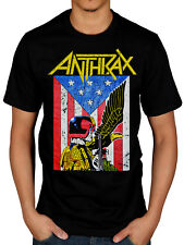 Official Anthrax Dread Eagle T-Shirt Amoung The Living Fistful Of Metal For All
