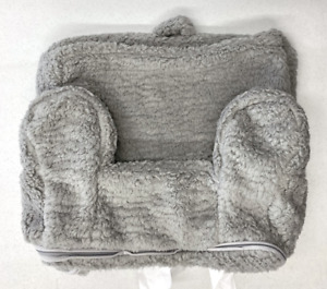 Pottery Barn KIDS My First Toddler Anywhere Chair Slipcover~Gray Sherpa~No Mono