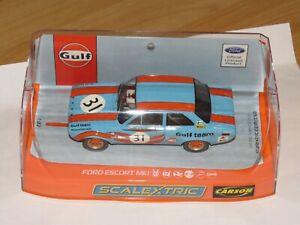 Scalextric Ford Escort MK I Gulf