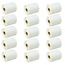 15rolls 500 4x3 Direct Thermal Labels Zebra Eltron Lp2824 Lp2844 Lp2442 Tlp2844