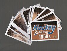 (64953) 2011-12 UPPER DECK HOCKEY HEROES #1-12 + HEADER