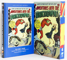 ADVENTURES INTO THE UNKNOWN Vol 4 Slipcase 1951 American Comics Group ACG Pulps