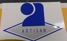 sticker logo artisan 30x20cm