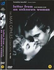 Letter from an Unknown Woman (1948, Max Ophüls) DVD NEW