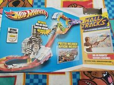 2011 Hot Wheels Wall Tracks Mid-Air Madness Booster Trackset New Sealed!