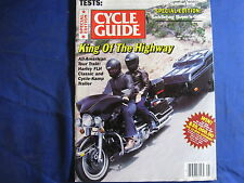 CYCLE GUIDE MAGAZINE-AUG 1982-HARLEY ELECTRAGLIDE-SUZ GS550M KATANA-MR30-VINTAGE