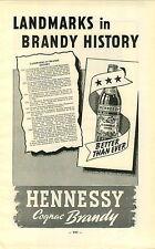 "ADVERTISEMENT "" Mini Poster "" Vineyard Wine Cognac Hennessy Brandy Martell RGB"