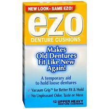 Ezo Denture Cushions Upper Heavy 12 Each (Pack of 2)