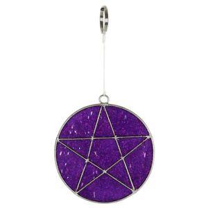 Mystisch Mini Pentagramm Sonnenfänger - Brandneu
