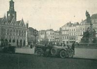 Saint-Quentin - Marktplatz - Erster Weltkrieg - um 1915 - Deutsche Truppen