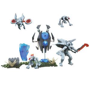 New Mega Bloks Construx Halo UNSC cng64 Promethean warrios figure building toys