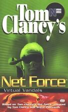 Virtual Vandals Tom Clancy's Net Force Young Adult #1 Young Adult Fiction 1st ed
