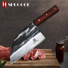 Full Tang Chef Knife Handmade Forged High-carbon Steel Slicing Butcher knife