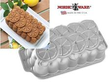 Nordicware CITRUS LOAF PAN Fruit Slices 11 x 5 x 3 Bread Jello Mold 6 Cups *NEW