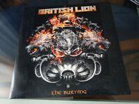 British Lion - The Burning - 2 lps  vinyl - (Steve Harris, Iron Maiden)