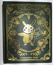Pokenatomy Unofficial Pokemon Anatomy Guide Book Leather Hardcover IN HAND