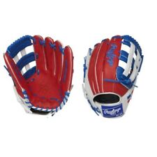 Rawlings Olympic Flag HOH Fielding Glove 12.75in Dominican PRO204W-2DR - RHT