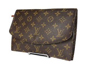 LOUIS VUITTON Pochette Rabat 23 Monogram Canvas Clutch Bag LP3884