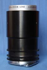 """TAMRON TELEVISION ZOOM LENS F=20-80 1:2.5,excellent,unknown lens"""",16 mm"""