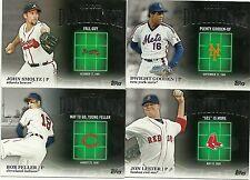 2012 Topps Series 2 Baseball Complete Mound Dominance 1-15 Ryan Verlander Spahn