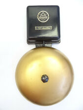Vintage 1872 Edwards Cat 551 16 Volt 60 Cycle Fire Alarm School Ringer Bell