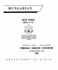 FSI HUNGARIAN BASIC COURSE DISK-MP3+PDF BOOKS+BONUS