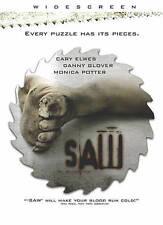 Saw (DVD, 2005, Canadian) Widesreen