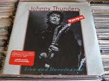 Johnny THUNDERS LP LIVE & UNRELEASED PUNK INDIE GRUNGE ROCK SEALED HEARTBREAKERS