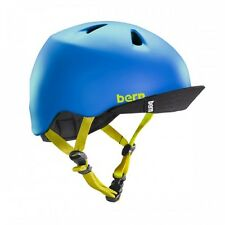 Bern Unlimited Nino Cycling Helmet (Matte Blue / Junior's / X-Small-Small Size)