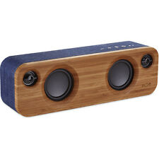 Get Together Mini House of Marley Portable Bluetooth Speaker Denim EM-JA013-DN