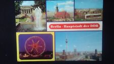 Schöne Mehrbild AK Berlin Ost DDR Mahnmal Marienkirche Kulturpark gel. 1982 B600