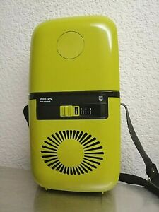 Vintage Rare 70s Space Age Compact Hair Dryer HP 4625 PHILIPS