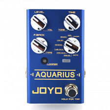 JOYO Revolution Series R-07 Aquarius Multi Delay & Looper Guitar Effects Pedal