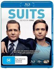 Suits : Season 1 (Blu-ray, 2014, 3-Disc Set)*Excellent Condition*