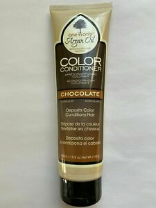 NEW! ONE N ONLY ARGAN OIL COLOR DEPOSITING CONDITIONER CHOCOLATE 5.2 OZ BRUNETTE