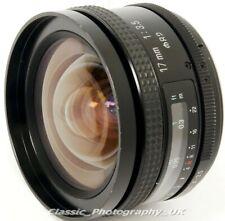 Tamron SP 17mm 1:3.5 AD2 Universal Mount ULTRA-Wide-Angle Lens FILM & Digital ft