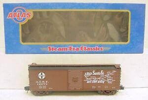 Atlas 6491-2 Santa Fe Boxcar #148773 [3Rail] LN/Box