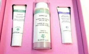 REN Clean Skincare Evercalm Globaly Protection Day Cream 1.7 oz set 72$ value