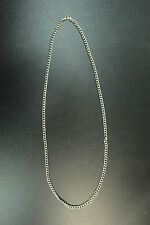 """UNISEX """"THE SILVER LINING"""" CHAIN NECKLACE RETRO (CL12)"""