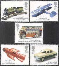 GB 2003 Toys/Plane/Train/Car/Bus/Rocket/Rail/Motoring/Transport 5v set (n22490)