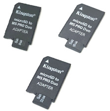 MEMORY STICK PRO DUO ADAPTER 8GB 16GB 32GB MICRO SD FOR PSP 1000 2000 3000 3001