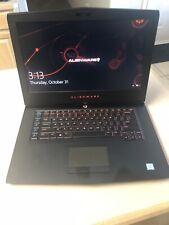 "Alienware 15 R3 15.6"" Gaming Laptop i7-7700HQ 1060 6GB GPU 16GB RAM 1TB HDD 256G"