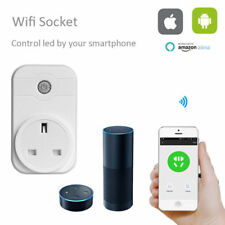 Wifi Smart Socket Support Alexa Mobile APP Remote Control Timer Power Plug