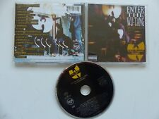 CD ALBUM  WU TANG CLAN Enter the Wu Tang  36 CHAMBERS 74321203672