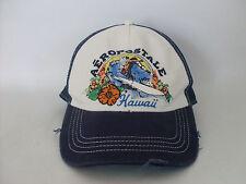 Distressed Aeropostale Hawaii Surfer Trucker Snapback Adjustable Mesh Hat