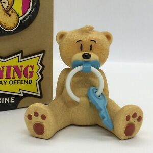 💙 'BAD TASTE BEARS' COLLECTABLE FIGURINE 'RINGTON' SUPERB CONDITION! BOXED!