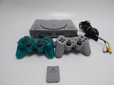 PS1 Playstation 1 Fat Console w/ 2x Controllers & cables Tested & Working (NTSC)