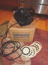 Vintage View-Master Junior Projector in Box with Reels